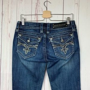 Rock Revival From Buckle Evelyn Bootcut Low Rise